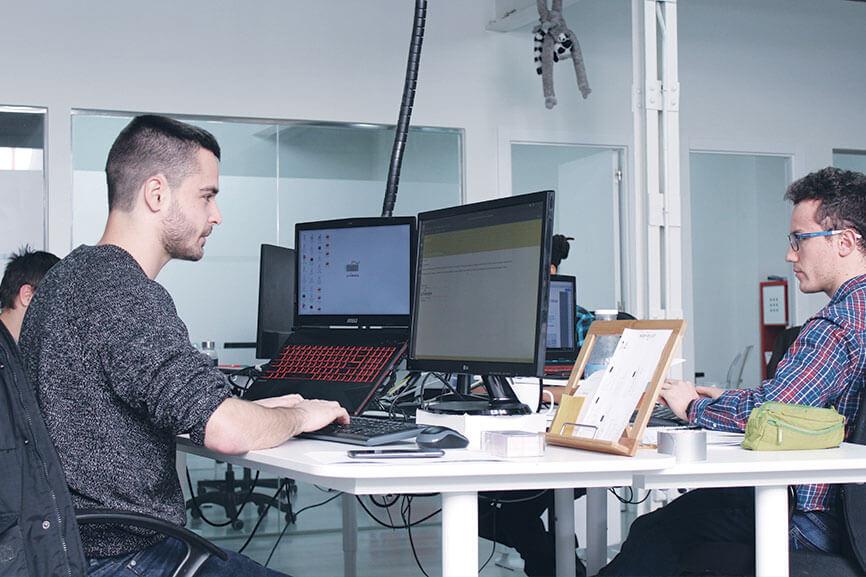 Anedma team office